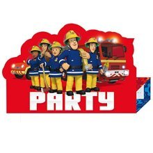 Fireman Sam Stand-up Invitations