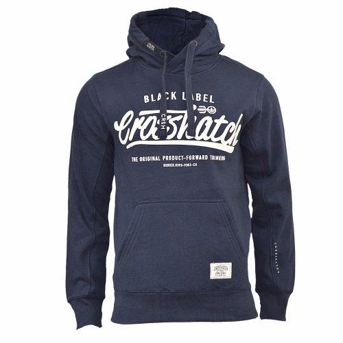 Mens hoodie crosshatch hanglide