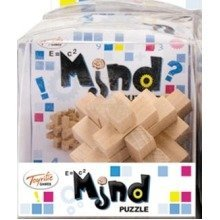 Wooden Mind Puzzle (one of 12 Assorted Designs)