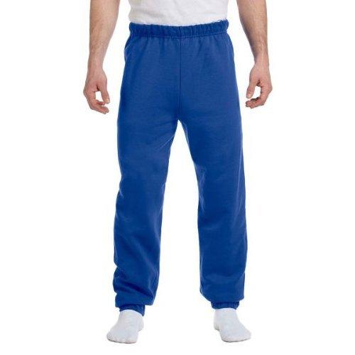 Jerzees mens 8 oz. 50/50 NuBlend Fleece Sweatpants(973)-ROYAL-XL