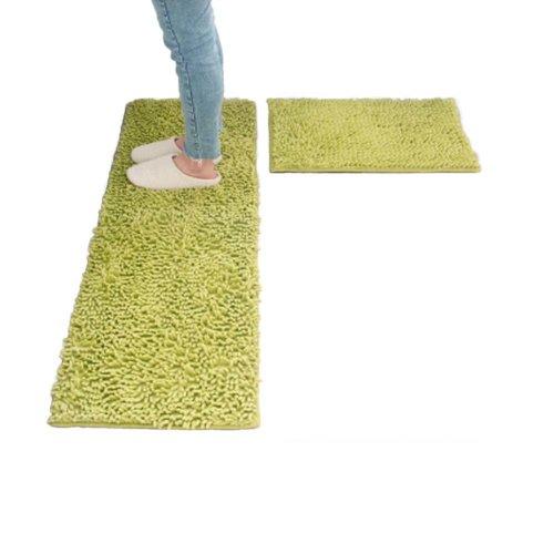Kitchen Mats Long Absorbent Foot Pad Bathroom Non-slip Doormat Bedroom Carpet_A20