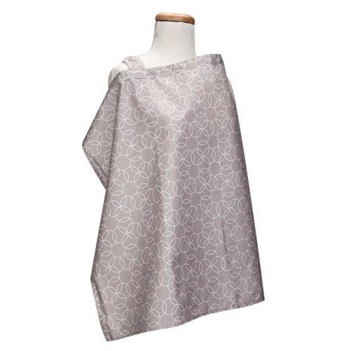 Trend-Lab 100586 Circles Gray Nursing Cover