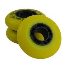 4PCS PU Roller Skate Wheels 76mm Inline Skating Wheels 85A