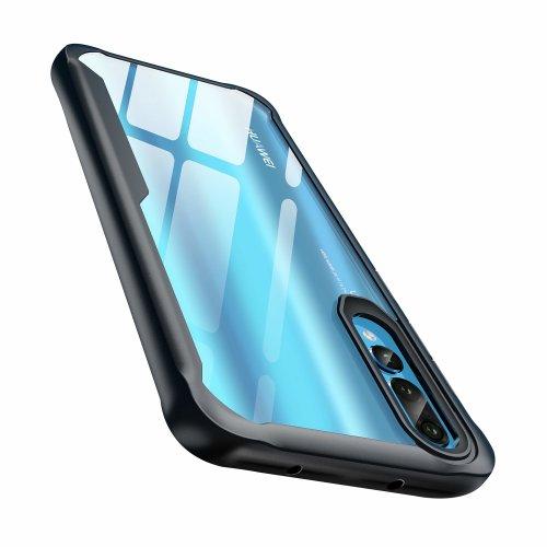 sports shoes b0bf7 80cbd Huawei P20 Pro Case, ORETech Hybrid P20 Pro Case Cover [Shock-Absorption  Bumper] [Anti Scratch] [Light & Slim] Clear Transparent Hard PC Back...