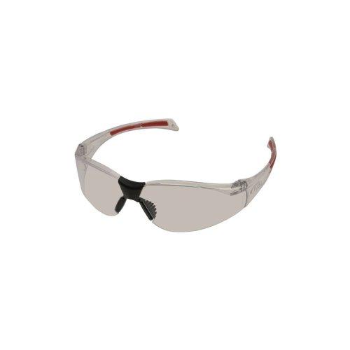 Stealth 8000 Glasses - Clear Frame - Clear Hardcoat Lens