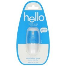 Hello Breath Spray - Supermint - 0.236 oz