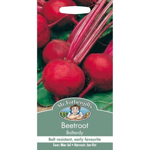 Mr Fothergills - Pictorial Packet - Vegetable - Beetroot Boltardy - 275 Seed