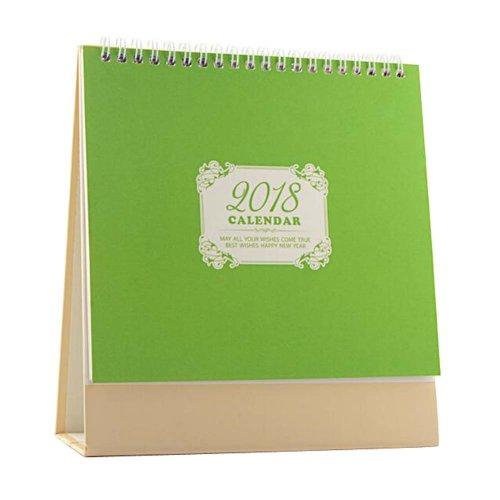 Memorandum Calendar Desk Notebook 2018 Office/Home Business Calendar-G