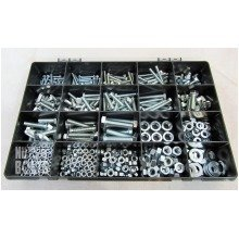 Grade 8.8 Assorted Box kit M4,M5 M6 M8 M10 Nuts And Bolts Zinc