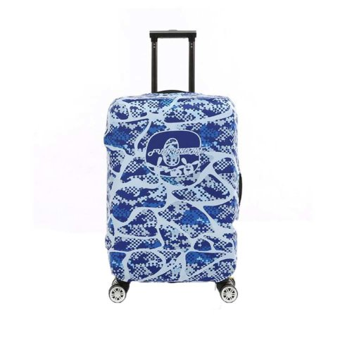 Travel Case Luggage Cover Dust Prevent Suits for 18-20 Inch Luggage-Blue