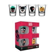 Suicide Squad Mix 2 Shot Glasses