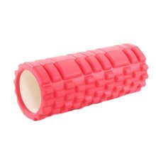 Yoga Foam Roller Wheel Yoga Massage Stick Muscle Relaxation Fitness Exercise 33 CM * 14 CM-Red