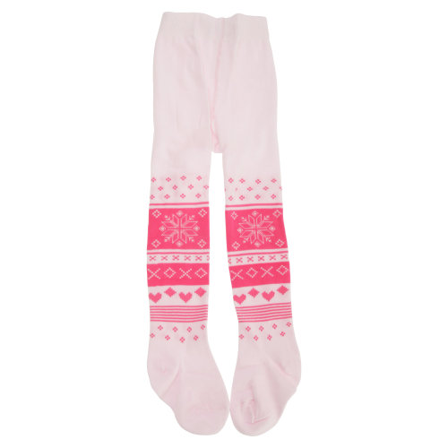 Baby Girls Cotton Rich Fairisle Design Tights