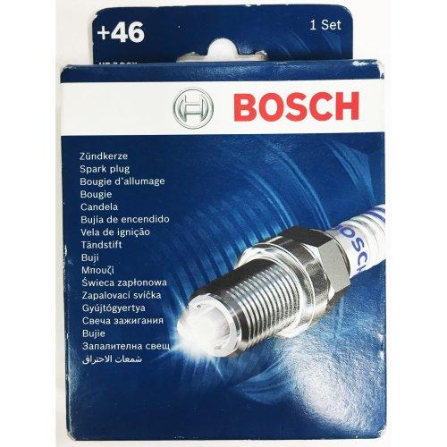 Bosch +46 Spark-Plug Set 0242235979 HR 7 DCX+