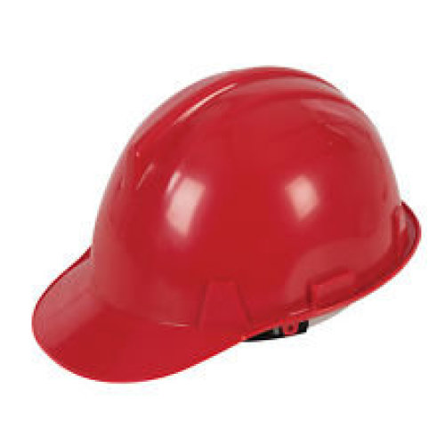 Red Hard Safety Hat