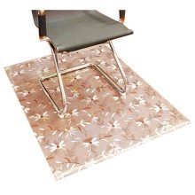PVC Carpet Computer Chair Cushion Swivel Chair Cushion Mats 80X80 CM -02