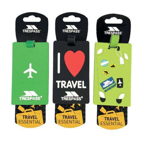 Trespass Traveltag 2016 Luggage Tags