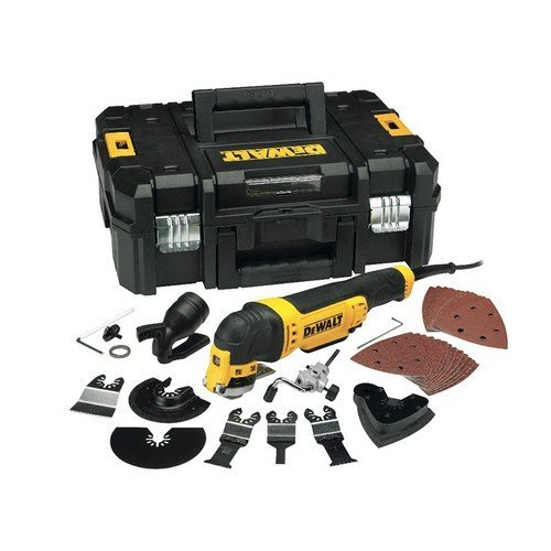 DeWalt DWE315KTL Multi Tool Quick Change Kit & TSTAK 300 Watt 110 Volt
