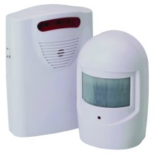 Driveway Alarm - Wireless & Pir Motion Sensor Alarm - No Wiring Required