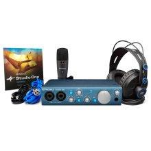 Presonus AudioBox iTwo Studio 2x2 USB/iPad Recording System Bundle