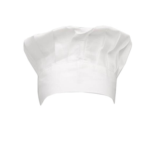 Adult Chef Hat with Elastic Band Baker Kitchen Cooking Chef Cap, White
