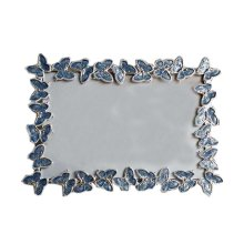 6-inch Photo Frame Butterfly Photoframe and Home Decoration, Blue