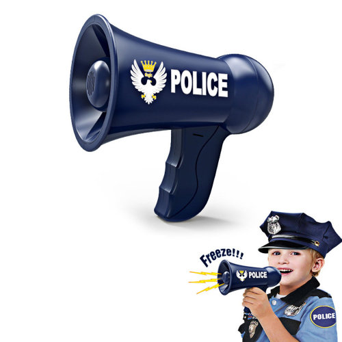 Children Role Play Toy Battery Powered Police Megaphone