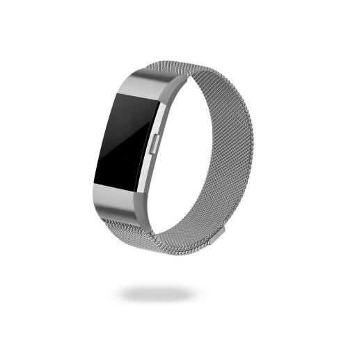 Jivo Milanese Strap Fitbit Charge2 L-Sil
