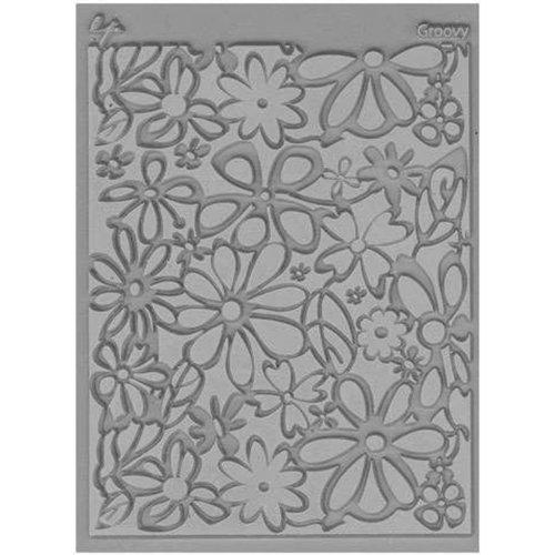 """Lisa Pavelka Individual Texture Stamp 4.25""""X5.5""""-Groovy"""