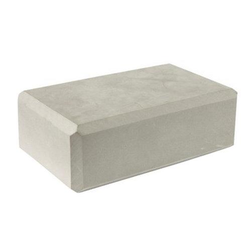 High Density Yoga Block Blocks Foam Brick Yoga Mat Accessory Sports - Gray