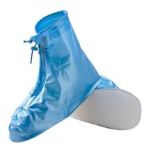 Hiking/Climbing/Camping/Skiing Shoes Gaiter Rain Shoes Cover- XL Blue