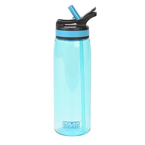 Polar Gear Aqua Curve Tritan Bottle, Turquoise, 750ml - Official Product Style -  official product polar gear aqua style curve tritan bottle 750ml