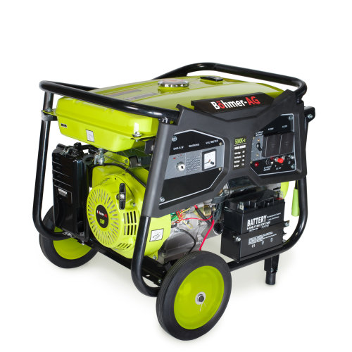 Böhmer-AG Electric Key Start Petrol Generator 7.5KW / 9.4kVA 13HP WX5000E