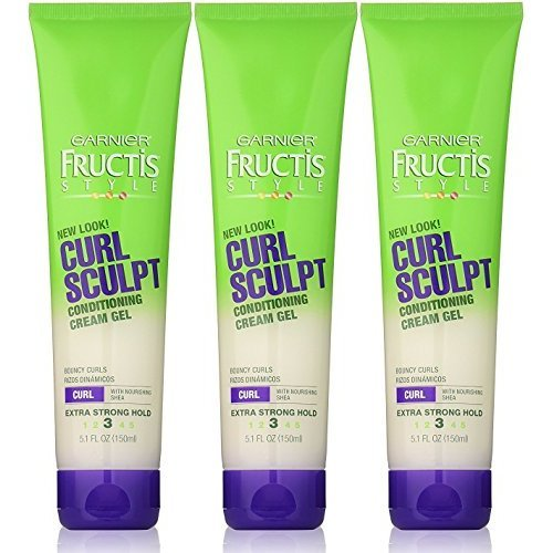 Garnier Fructis Style Curl Sculpting Gel 51Fluid Ounce Pack of 3