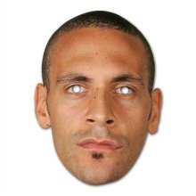 Rio Ferdinand Celebrity Face Mask
