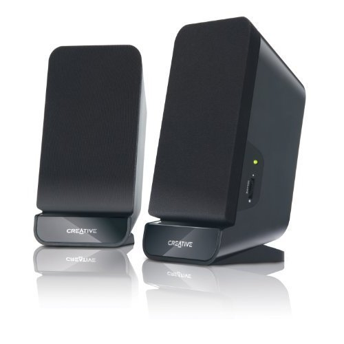 Creative Labs A60 2 0 Speaker System Black