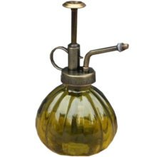 "Creative Zakka Glass Water Cans Vintage Gardening Watering 6.2*3.5"" Yellow"