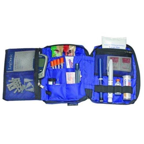 MEDICOOL DPDX Diapak Organizer Deluxe Diabetic Carrying Case