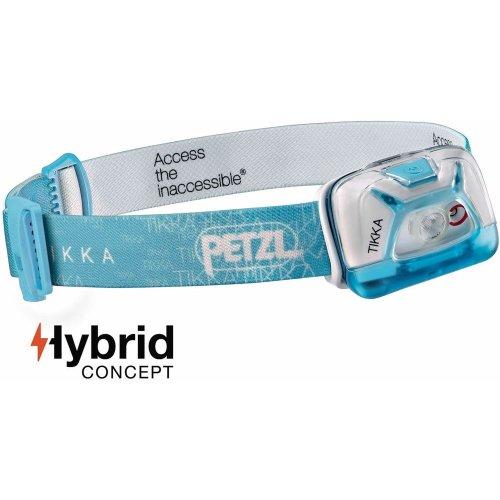 Petzl Tikka Headlamp 200 Lumens (Blue)