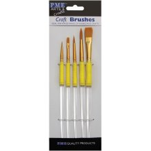 Craft Brush Set 5/Pkg-
