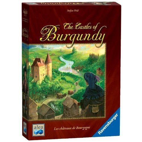 Ravensburger The Castles of Burgundy Board Game Fun Strategy Game Thats Easy to Learn and Play With Great Replay Value