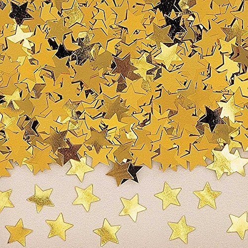 Stardust Gold Metallic Confetti 14g -