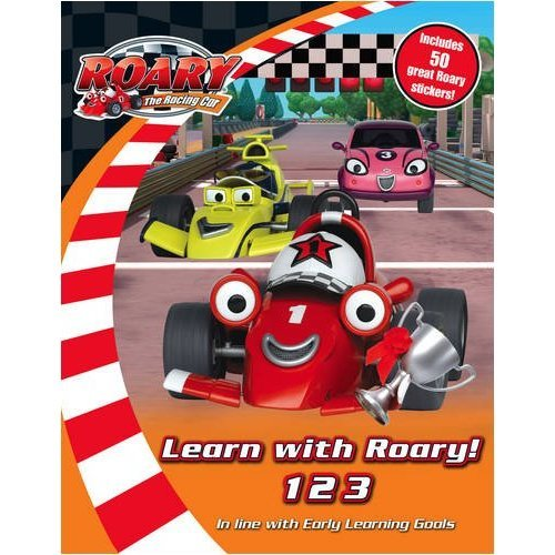 Roary the Racing Car - Learn with Roary! 123