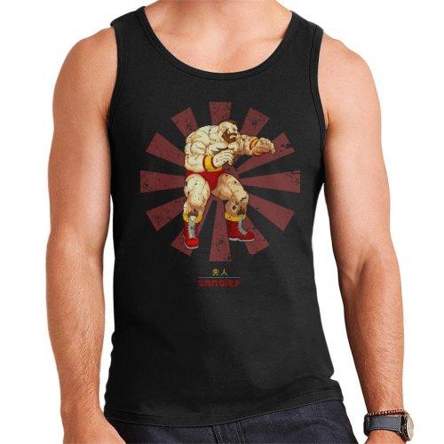Zangief Retro Japanese Street Fighter Men's Vest