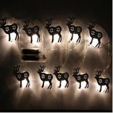 1.65M 10LEDs Elk String Light