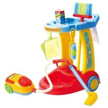 Playgo My Cleaning Trolley with Vacuum Cleaner 3465