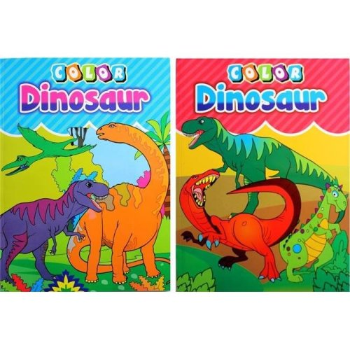 A Plus Homework 1851640 Dinosaur Coloring Book - Case of 48