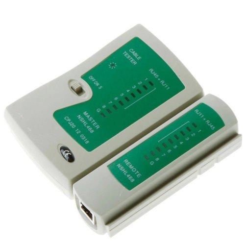 RJ45 RJ11 RJ12 CAT5 CAT 5 6 UTP Network Lan Cable Cord Tester Tool