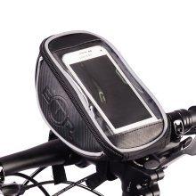 BTR Handlebar Bike Bag Pannier with Mobile Phone Holder