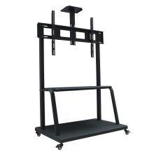 "Homcom Tv Mobile Stand 50"" -100"" Tv Floor Stand with Mounting Bracket & Shelf"